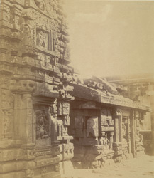 South-west view of the Shishireshvara Temple, Bhubaneshwar